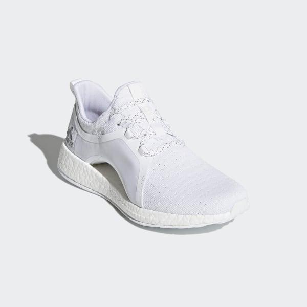 60945beb7 Pureboost X Shoes Cloud White   Silver Metallic   Core Black BY8926