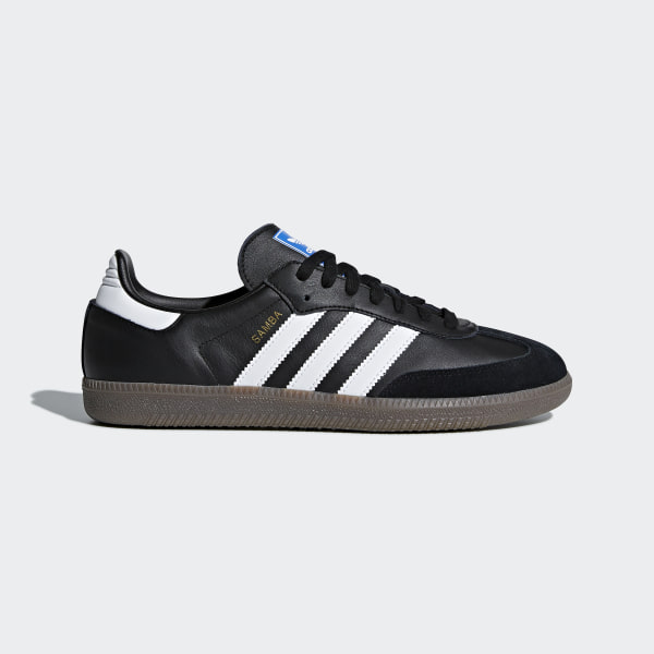 d2ae6bf0253 Samba OG Shoes Core Black   Cloud White   Gum B75807