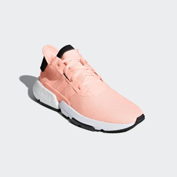 9c0310fc91d8 POD-S3.1 Shoes Clear Orange   Clear Orange   Core Black B37364