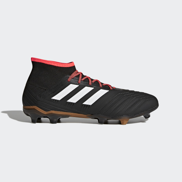hot sale online ea881 6e2fd Bota de fútbol Predator 18.2 césped natural seco Core BlackFtwr  WhiteSolar Red