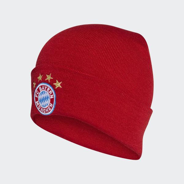 adidas FC Bayern Home Beanie - Red  537669b8301