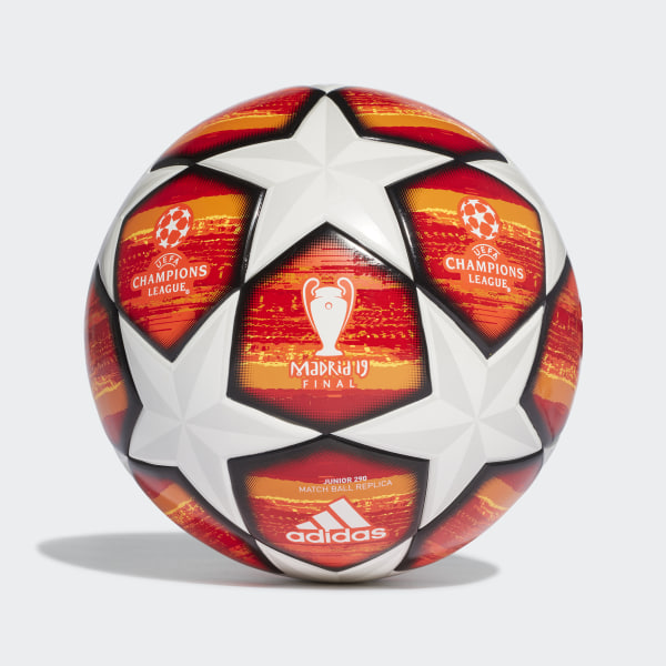 a8d250b23a35d Bola 290 Júnior UCL Finale Madrid Orange   Active Red   Scarlet   Solar Red  DN8682