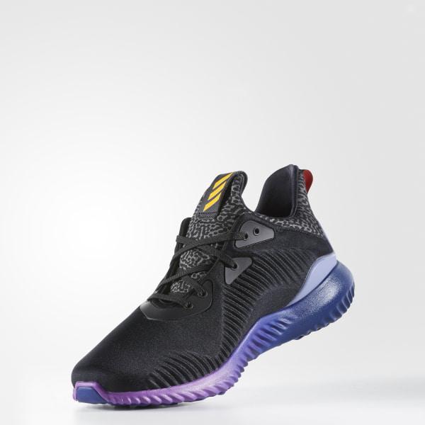 huge selection of 009d4 ad341 Alphabounce Shoes Core Black  Solar Gold  Shock Purple B42351