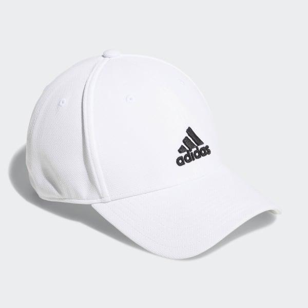 b22e3fcd6fc adidas Stretch-Fit Trucker Hat - White
