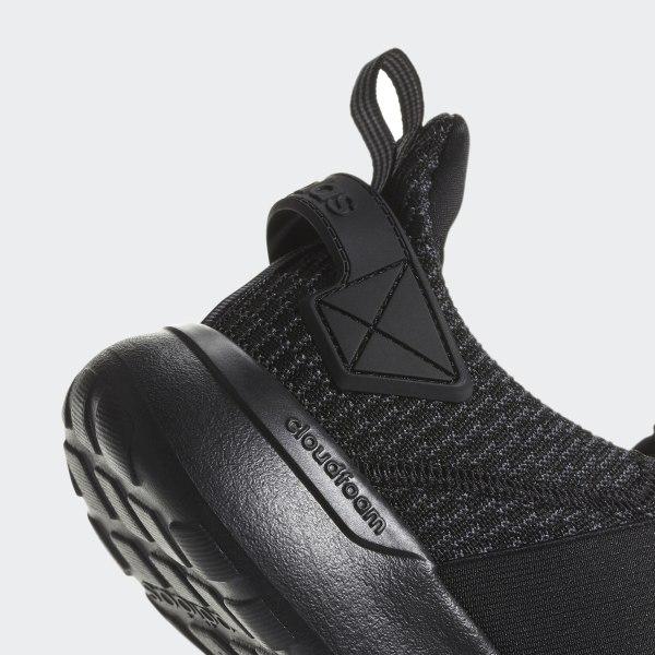 1d4c328862ff91 Lite Racer Adapt Shoes Core Black   Core Black   Grey B44767
