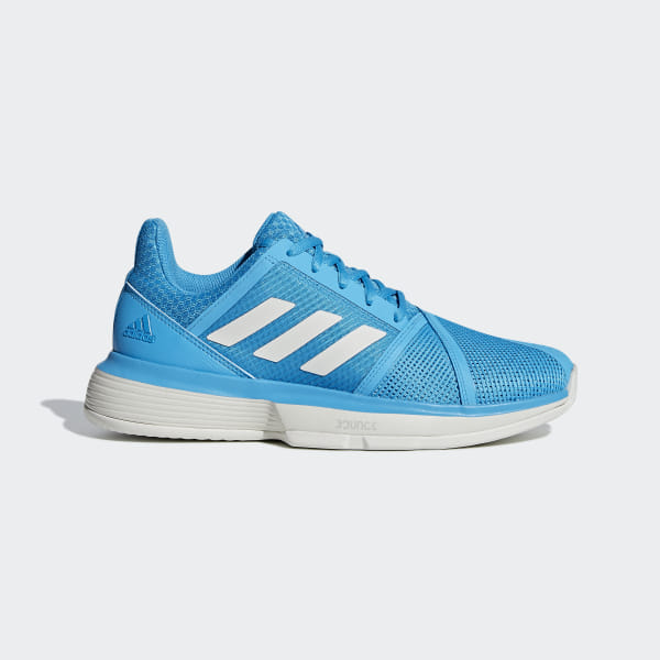 more photos 47f32 76d86 Tenis CourtJam Bounce W clay Shock Cyan   Raw White   Ftwr White CG6365