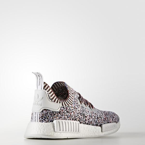 9e283ea4b1e33 NMD R1 Primeknit Shoes Core White   Core White   Core White BW1126