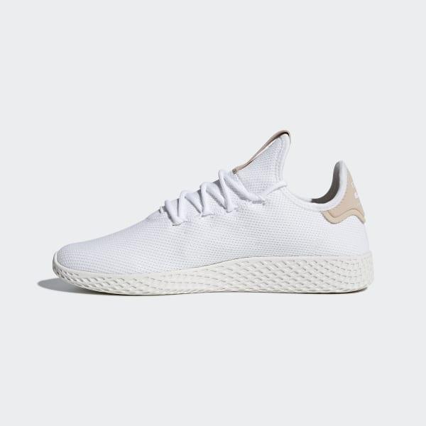 0a5b176b034a2 Pharrell Williams Tennis Hu Shoes Ftwr White   Ftwr White   Chalk White  CQ2169