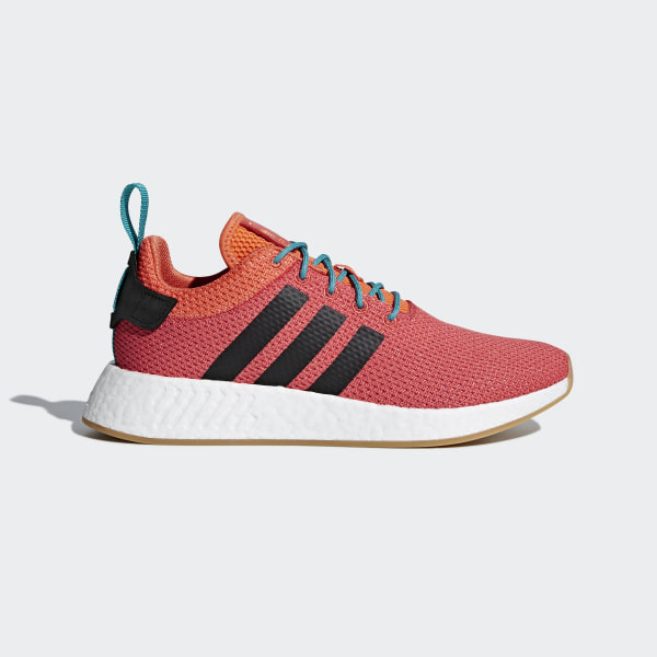 hot sale online d0ebc 27ca8 NMD R2 Summer Shoes Trace Orange   Gum 3   Ftwr White CQ3081