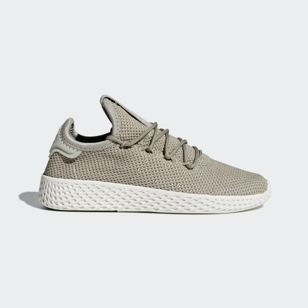 online store 79701 750ad Pharrell Williams Tennis Hu Shoes Tech BeigeTech BeigeChalk White BB6836