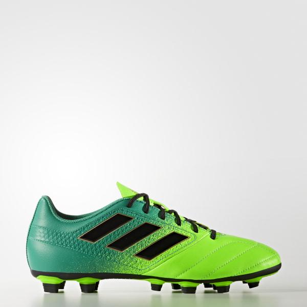 separation shoes 10220 87654 Botas de fútbol ACE 17.4 Terreno Flexible SOLAR GREENCORE BLACKCORE GREEN  BB1051