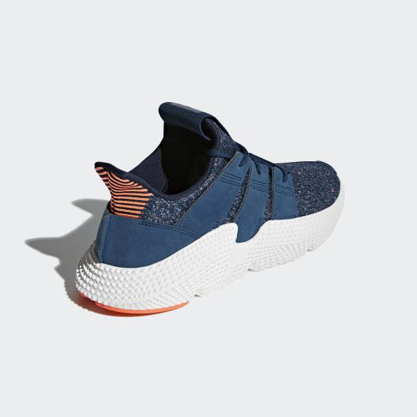94a070396a7 Prophere Shoes Blue Night   Blue Night   Hi-Res Orange AQ1026