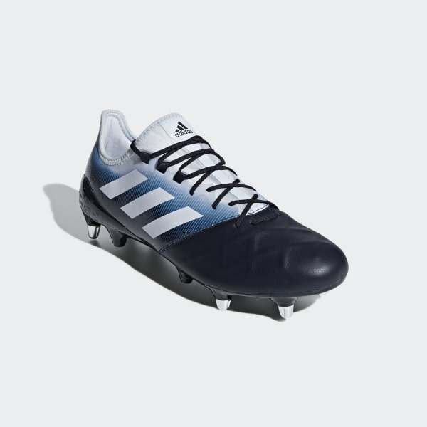 4b4d35559c44e Scarpe da rugby Kakari Light Soft Ground Legend Ink   Shock Cyan   Aero Blue  BB7982