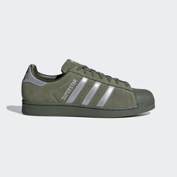 e68f07096fe4 Superstar Shoes Base Green   Black   Night Cargo B41988
