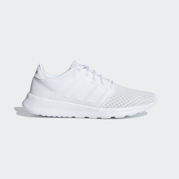 7f0b136161d Cloudfoam QT Racer Shoes Cloud White   Cloud White   Grey F34701