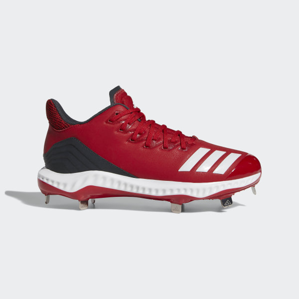 Icon Bounce Cleats Power Red   Cloud White   Carbon CG5242 adde8f976