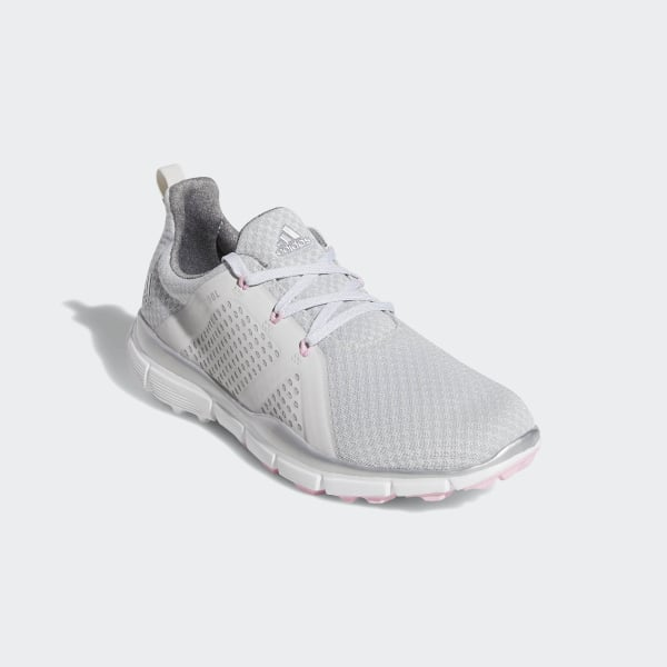 5c5cfc278e3 Climacool Cage Shoes Grey One   Silver Metallic   True Pink G26627