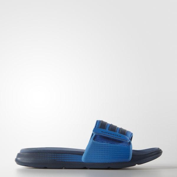 17f4ad1673378 adidas Men s Superstar 4G Slides - Blue