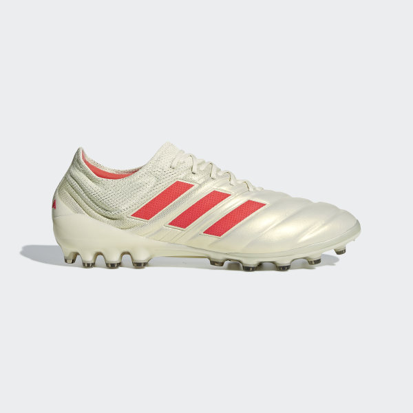 best sneakers 77116 02c9d Bota de fútbol Copa 19.1 césped artificial Off White   Solar Red   Core  Black G28990