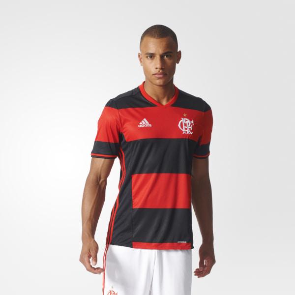 Camiseta de CR Flamengo Home BLACK RED AI7766 d8c6ccfec8ea8