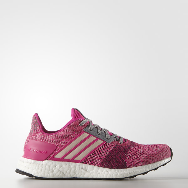 b4fb8b562e27 ULTRABOOST ST Shoes Shock Pink   Halo Pink   Mineral Red AF6525