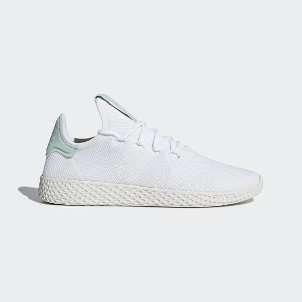 e818f3a913ea0 Pharrell Williams Tennis Hu Shoes Ftwr White   Ftwr White   Chalk White  CQ2168