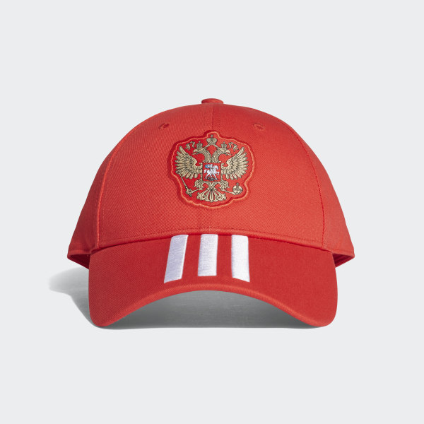 6944a5151d6 Russia 3-Stripes Hat Red   White CF4973