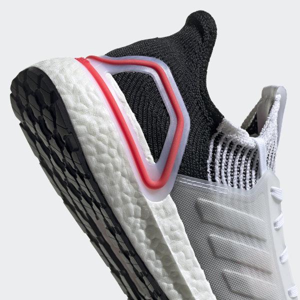 d6577d7abda9b Ultraboost 19 Shoes Ftwr White   Chalk White   Active Red B37703