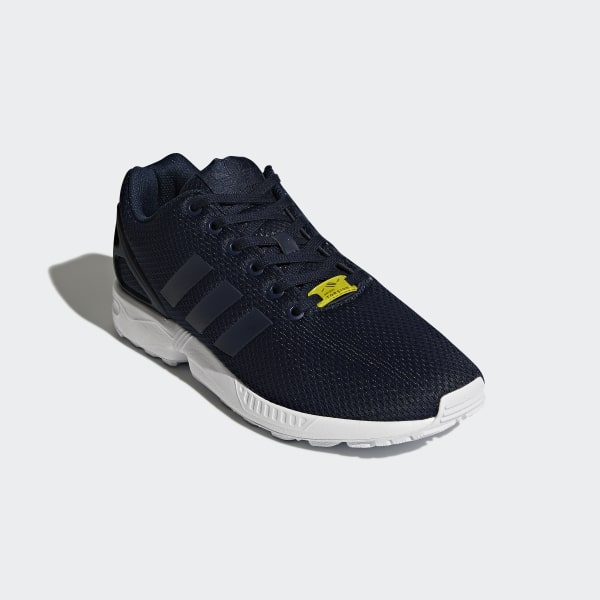 e69518d0dfb24 ZX Flux Shoes Dark Blue   Core White   Core White M19841