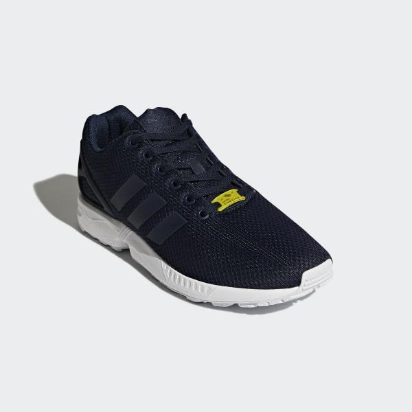 6a61705331b5a ZX Flux Shoes Dark Blue   Core White   Core White M19841