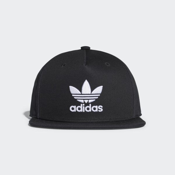 4dad86c9ed0 adidas Trefoil Snap-Back Cap - Black