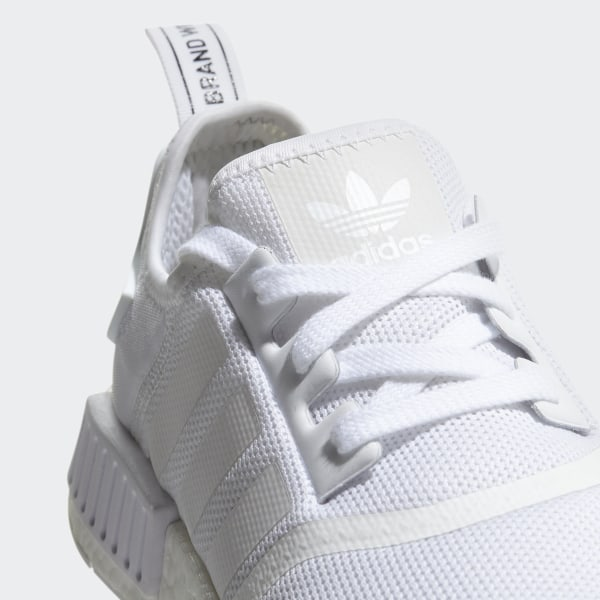 7898a3fe7 NMD R1 Shoes Ftwr White Ftwr White Trace Grey Metalic CQ2411