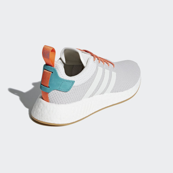 285c659d65fb9 NMD R2 Summer Shoes Grey   Grey One   Gum 3 CQ3080