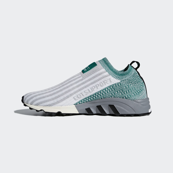 sports shoes 1b404 9e3ad EQT Support SK Primeknit Shoes Grey Two  Ftwr White  Sub Green AQ1032