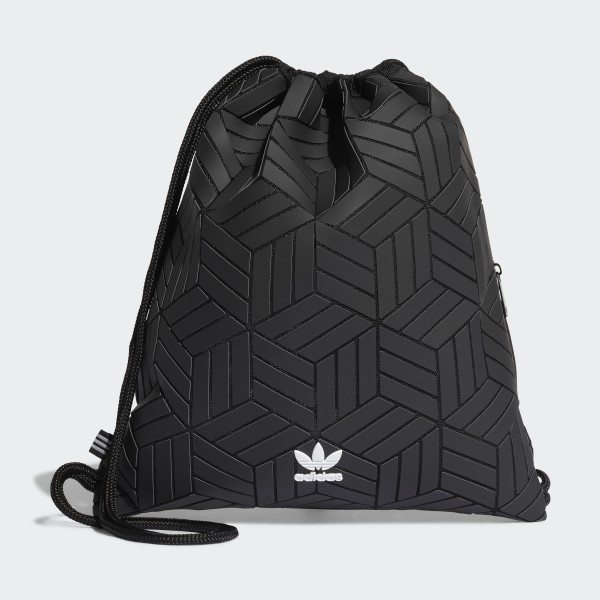 adidas 3D Gym Sack - Black  c376669edac8b