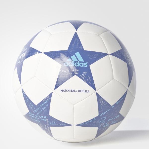 def9a24fd7486 Mini Pelota Capitano del Real Madrid para los partidos de la Final de UCL  16 WHITE