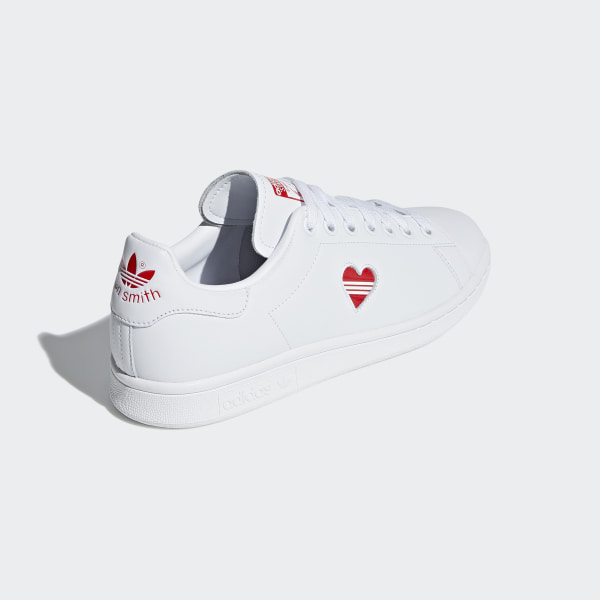 new style 0cc90 b499b Stan Smith Shoes Cloud White  Active Red  Cloud White G27893