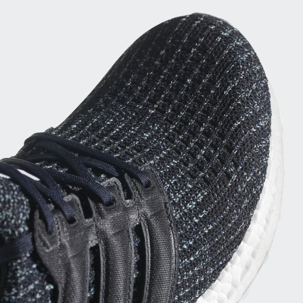 59029b843c2d0 Ultraboost Parley Shoes Carbon   Carbon   Blue Spirit CG3673