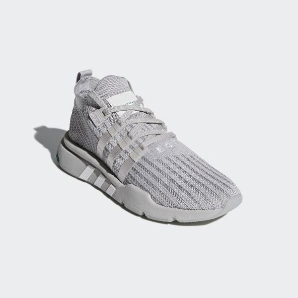 f521ab5e3982 EQT Support Mid ADV Primeknit Shoes Grey Two   Silver Metallic   Grey One  B37372