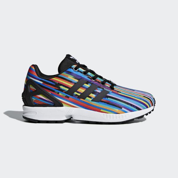 1247f2de4611 adidas Youth ZX Flux Shoes - Black