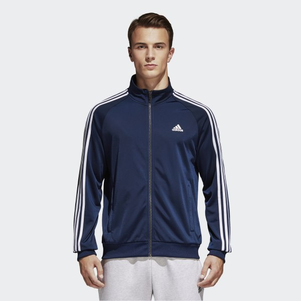 4a795d981ed0b Essentials Track Jacket Collegiate Navy   White B47367