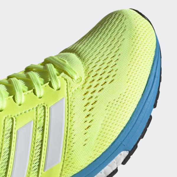 low priced 0f6ee 0cac6 adizero Boston 7 Shoes Hi-Res Yellow  Cloud White  Shock Cyan EF7632