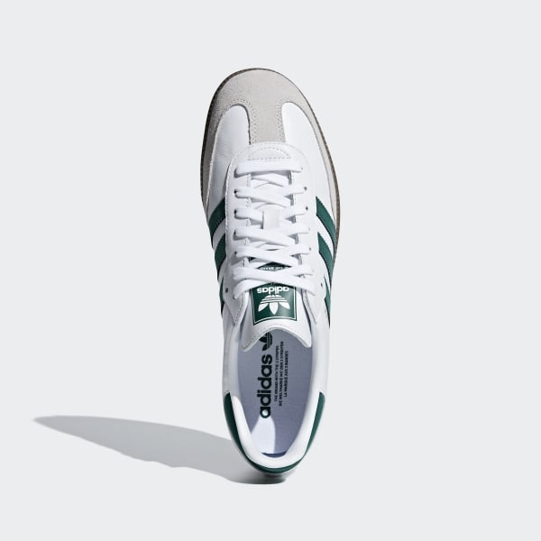 274e236de0e Samba OG Shoes Cloud White   Collegiate Green   Crystal White B75680