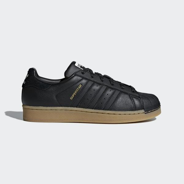 5df3764e0fc Tenis Superstar W CORE BLACK CORE BLACK GUM4 B37148