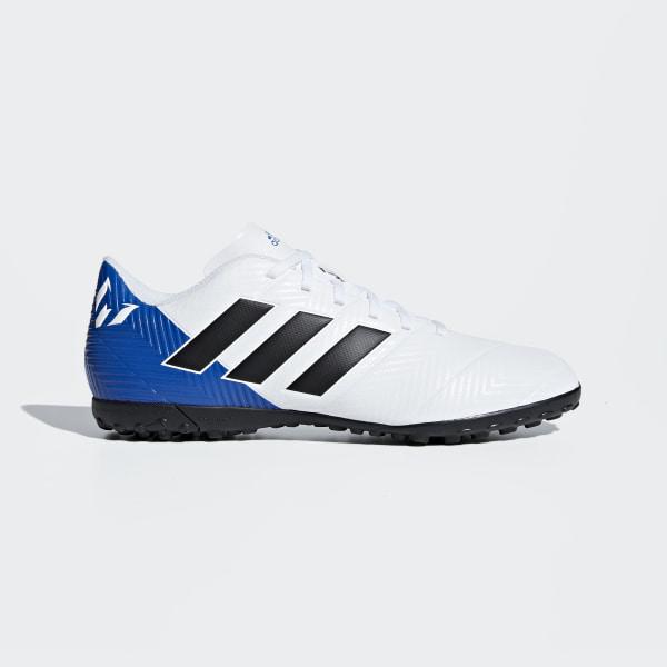 Chuteira Nemeziz Messi Tango 18.4 Society FTWR WHITE CORE BLACK FOOTBALL  BLUE DB2277 ba4485fc96c5b
