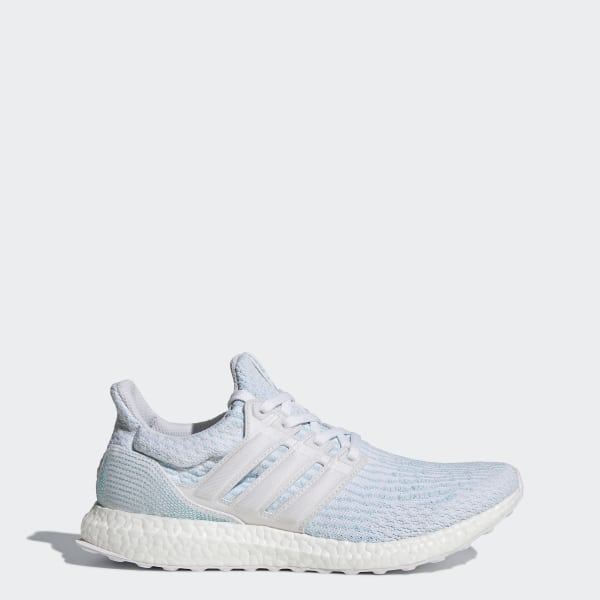 deba85077 Ultraboost Parley Shoes Cloud White   Cloud White   Icey Blue CP9685