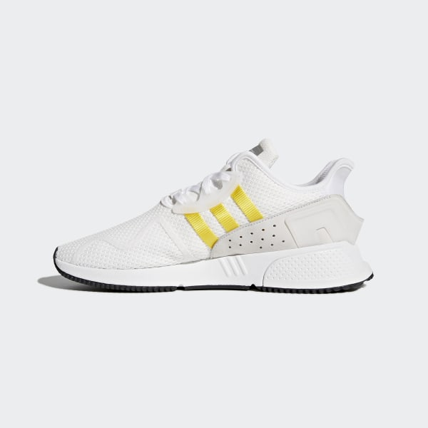 low cost 61cac f448e EQT Cushion ADV Shoes Ftwr WhiteEqt YellowSilver Metallic CQ2375