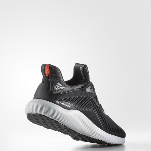 cheap for discount 00886 8cada Alphabounce Shoes Core Black   Silver Metallic   Cloud White B42744