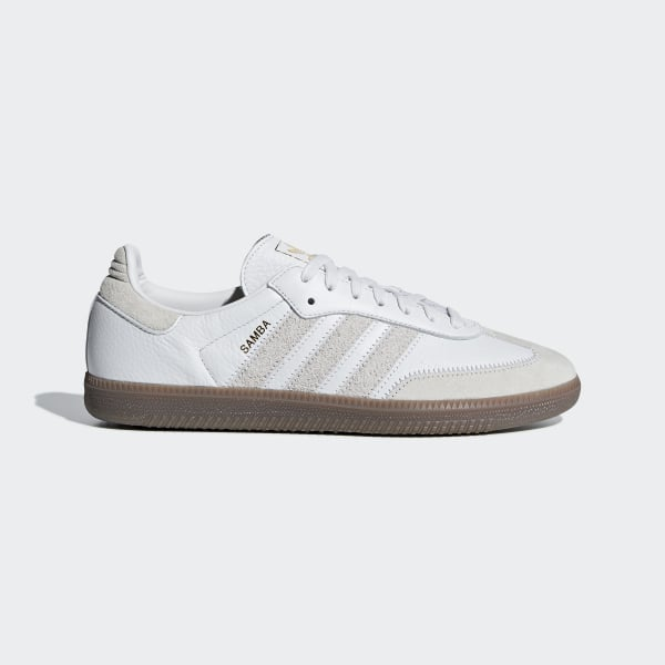 the best attitude 7a8d2 b82a1 Samba OG FT Shoes Crystal White  Raw White  Gold Metallic BD7527