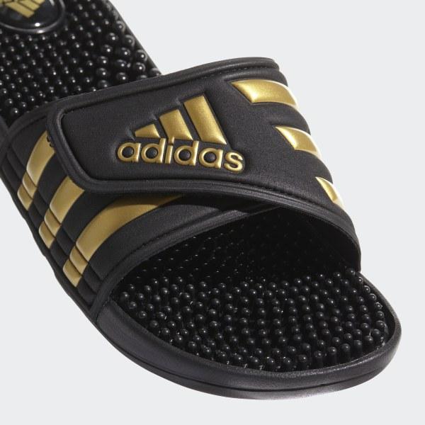 e81a084a751 Adissage Slides Core Black   Gold Metallic   Core Black CM7921
